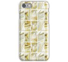 Yellow mosaic iPhone Case/Skin