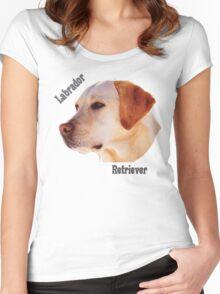 Dog breeds - Labrador Retriever Women's Fitted Scoop T-Shirt