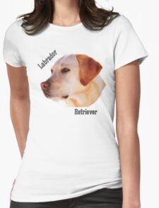 Dog breeds - Labrador Retriever Womens Fitted T-Shirt