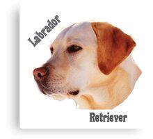 Dog breeds - Labrador Retriever Canvas Print