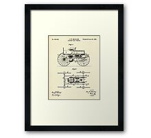 Electric Road Vehicle-1893 Framed Print