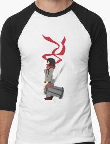 Mikasa Ackerman Men's Baseball ¾ T-Shirt