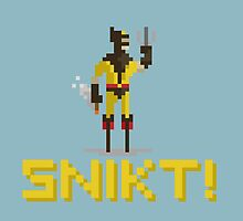 SNIKT! by Midgetcorrupter