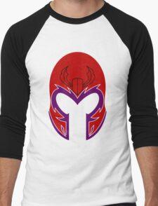 Magneto Helmet Men's Baseball ¾ T-Shirt