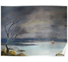 Storm Clouds_Loch Ness_UK Poster