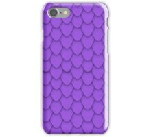 Purple Dragon Scales iPhone Case/Skin
