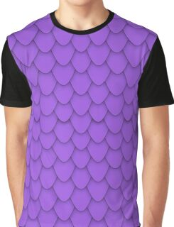Purple Dragon Scales Graphic T-Shirt