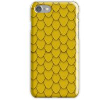 Gold Dragon Scales iPhone Case/Skin