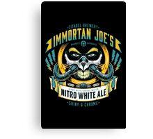 Nitro White Ale Canvas Print