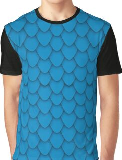 Blue Dragon Scales Graphic T-Shirt