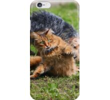 Cats vs Dog iPhone Case/Skin