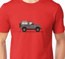 A Graphical Interpretation of the Defender 90 Station Wagon Africa Edition Unisex T-Shirt