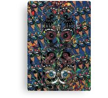 The Black Butterflies Canvas Print