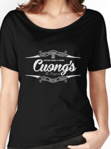 Cuongs custom bikes and tours Women's Relaxed Fit T-Shirt