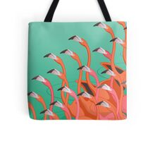 Fresco of the flamingoes Tote Bag
