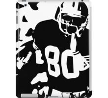 Jerry Rice black and white iPad Case/Skin