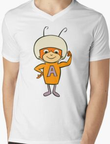 Atom Ant Mens V-Neck T-Shirt