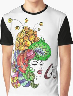 Crazy Colourful Hair Day Graphic T-Shirt