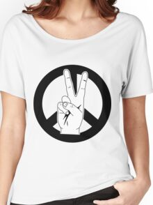 Peace and Harmony Women's Relaxed Fit T-Shirt