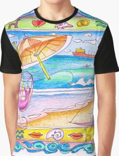 summer feeling Graphic T-Shirt