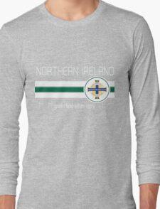 Euro 2016 Football - Northern Ireland Long Sleeve T-Shirt