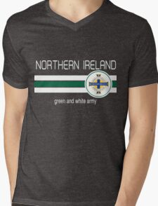 Euro 2016 Football - Northern Ireland Mens V-Neck T-Shirt