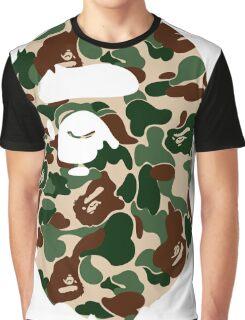 bape logo army Graphic T-Shirt