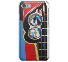 Plymouth Fury Front Painting iPhone Case/Skin
