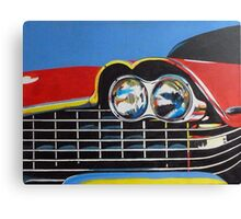 Plymouth Fury Front Painting Canvas Print