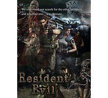 Resident Evil 1 Photographic Print