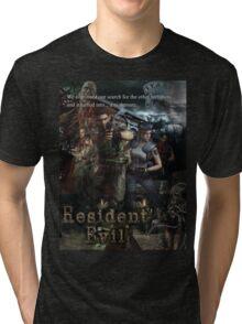 Resident Evil 1 Tri-blend T-Shirt