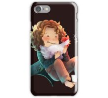 Doctor Who - 8th Doctor and a chicken iPhone Case/Skin