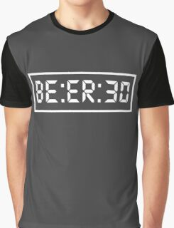 Beer 30 Funny Drinking Alcohol Bar Humor Graphic T-Shirt