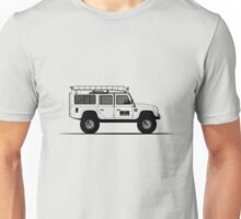Land Rover Defender 110 Station Wagon Big Foot Unisex T-Shirt