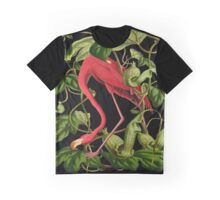Flamingo Graphic T-Shirt