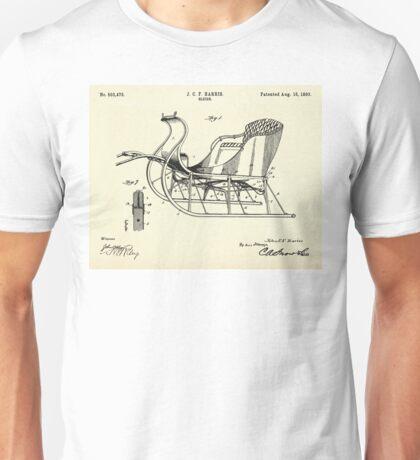Sleigh-1893 Unisex T-Shirt