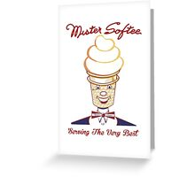 Mister Softee Serving The Very Best Greeting Card