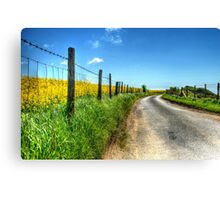 Take Me Home, Country Road Canvas Print