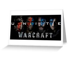 Unite Warcraft Greeting Card
