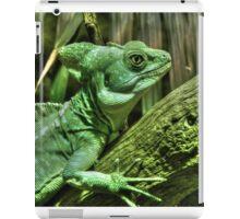 Green Lizard iPad Case/Skin