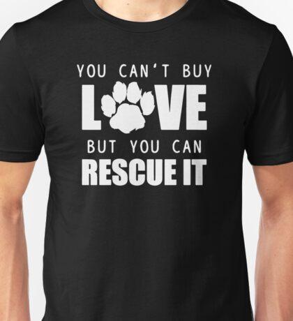 Dog Lover Animal Pet Rescue Unisex T-Shirt