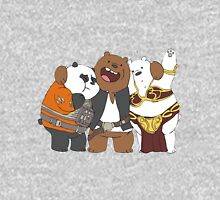 We bare bears in the space Unisex T-Shirt