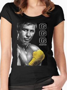GGG Gennady Golovkin Women's Fitted Scoop T-Shirt