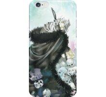 The Mad Hatter & Skull (Pandora Hearts) iPhone Case/Skin