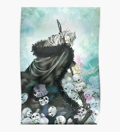 The Mad Hatter & Skull (Pandora Hearts) Poster