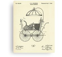 Child's Carriage-1896 Canvas Print