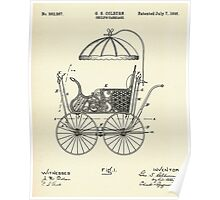 Child's Carriage-1896 Poster