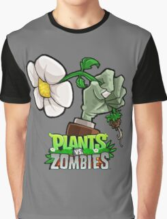 Plants vs Zombies Graphic T-Shirt
