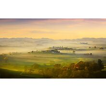A romantic morning has broken Photographic Print