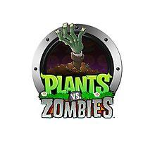Plants VS. Zombies Photographic Print